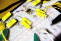 Array preamp breadboarded