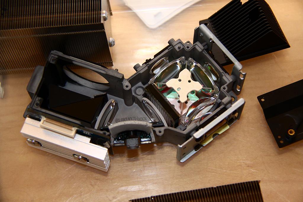 K330 optics package - opened.